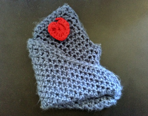 My friend crocheted mobius strip handwarmers for me. Aren't they the best?!?