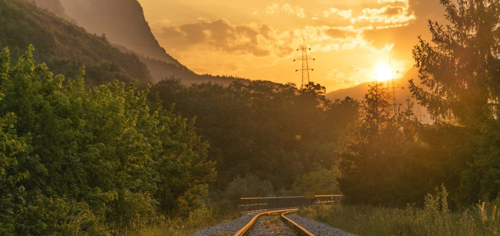 Life is like a mystery train with the destination unknown.